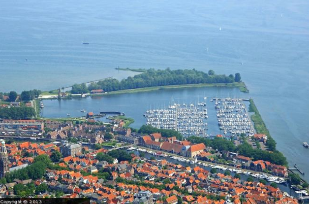 Luchtfoto Compagnieshaven