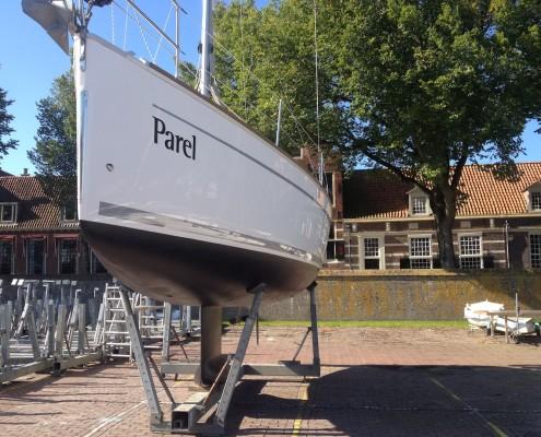 Bavaria 32 Cruiser 2012 te koop op de wal