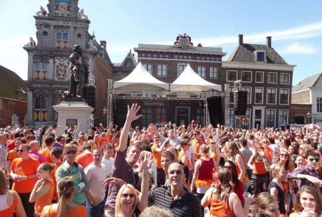 Hoorn superfeest binnenstad