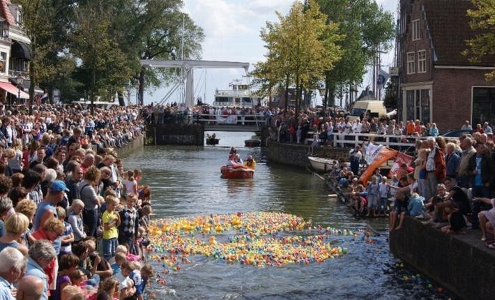 Hoorn feest binnenstad