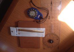 Bavaria 40 Ouwe Reus navigatie materiaal