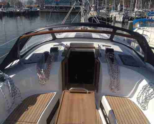 Bavaria 40 Cruiser kuip Windkracht 5