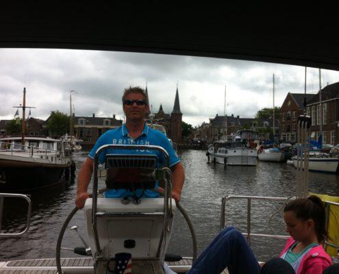 Peter van Wier Windkracht 5 Sneeker waterpoort