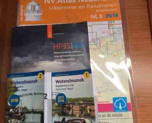 Waterkaarten Windkracht 5 NV Atlas NL2 en NL3