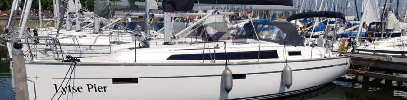 Bavaria 37 Cruiser Lytse Pier Windkracht5